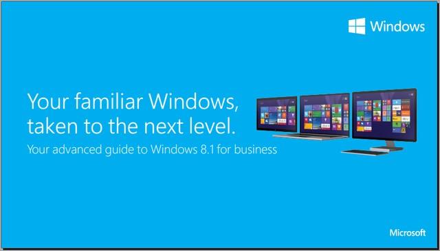 Microsoft Merilis Panduan Windows 8.1 dalam Bentuk Ebook dan Video [Download]