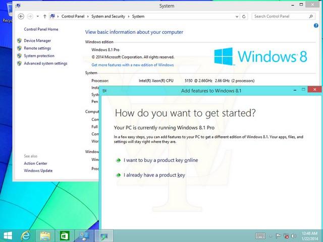Inilah Tampilan Windows 8.1 Update 1 yang Bocor ke Publik