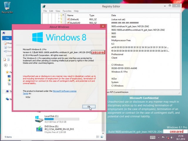 Windows 8.1 Update 1 Secara Default Langsung Booting Menuju Desktop