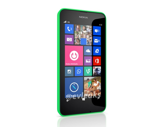 Muncul Gambar Device Nokia Lumia 630 Windows Phone 8