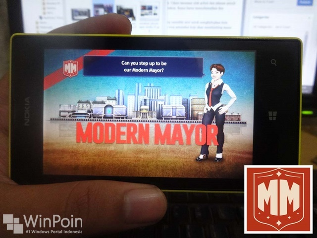 Nokia Modern Mayor: Game Eksklusif dari Nokia untuk Lumia Windows Phone 8