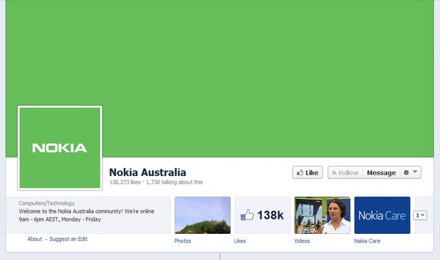 Akun Jejaring Sosial Nokia Mengalami Perombakan khas Android