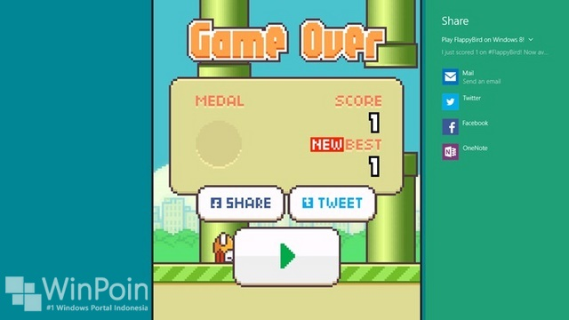 Game Alternatif Flappy Bird untuk Windows 8.1