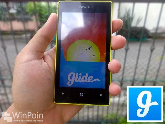 Aplikasi Glide untuk Windows Phone Sedang Dikembangkan