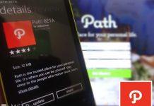 Update Aplikasi Path Windows Phone Dengan Perbaikan Bug