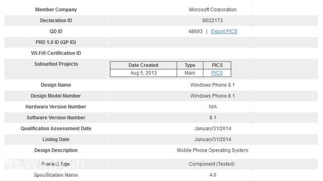 Windows Phone 8.1 Dipastikan Menggunakan Bluetooth 4.0