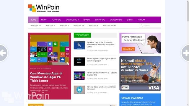 Aplikasi BETA Firefox untuk Windows 8 Sudah Bisa Didownload
