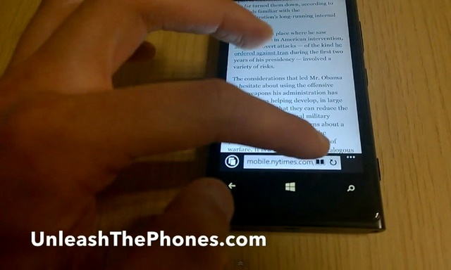 Terkuaknya Video Internet Explorer 11 Windows Phone 8.1