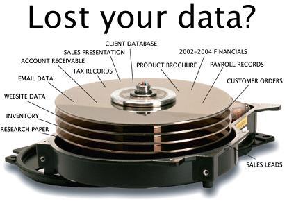 Gambar perumpamaan menyelamatkan data HDD