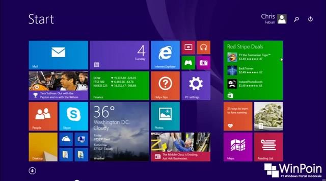 Rumor: Windows 8.1 Update 1 Akan Dirilis Awal April