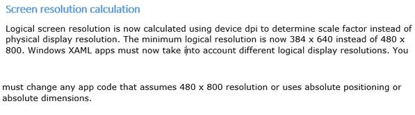 Windows Phone 8.1 Mendukung Resolusi qHD dan QHD