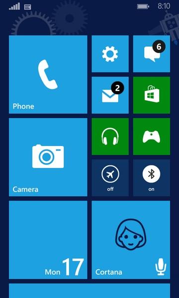 Muncul Lagi Gambar Custom Background Tile di Windows Phone 8.1