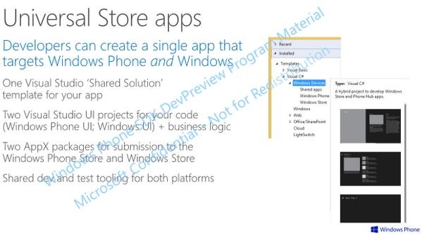 Muncul Informasi Detail dari Windows Universal Store Apps