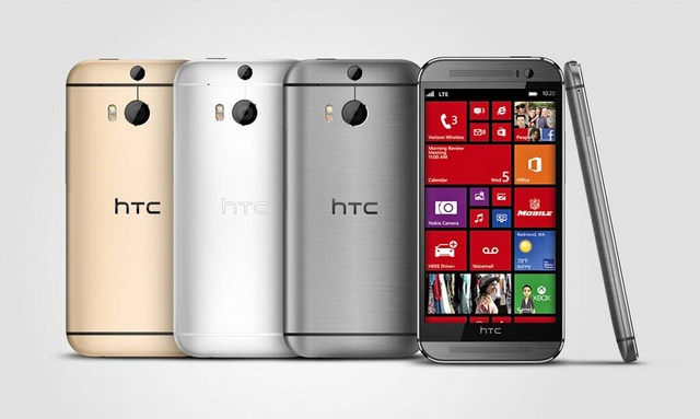 HTC Berencana Akan Membuat HTC One M8 versi Windows Phone