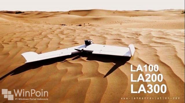 LA100, Pesawat yang Dioperasikan Dengan Windows Phone 8 dan Windows 8