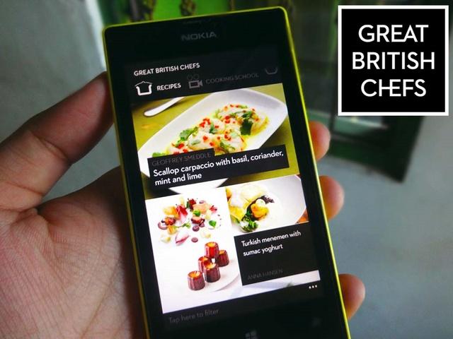 Mudahnya Memasak Resep Masakan Barat dengan Windows Phone 8