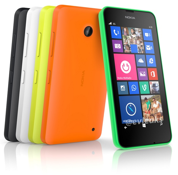 Penampakan Nokia Lumia 630 dengan Windows Phone 8.1