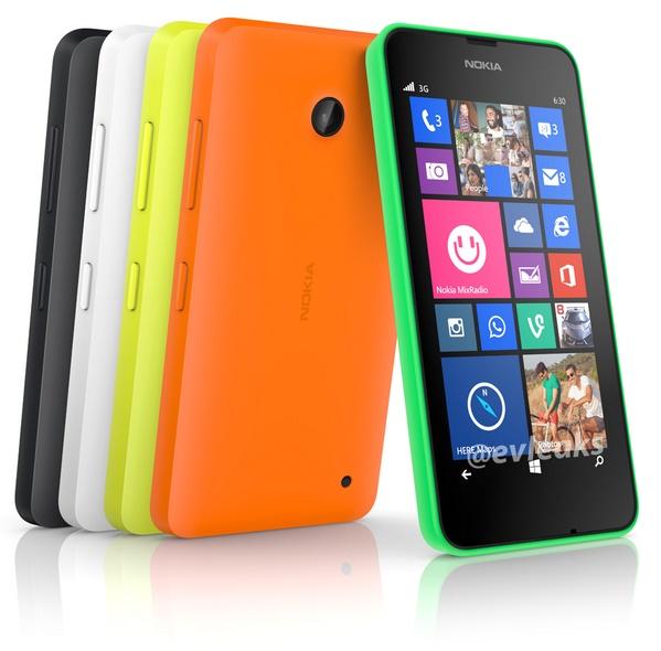 Penampakan Nokia Lumia 630 dengan Windows Phone 8.1