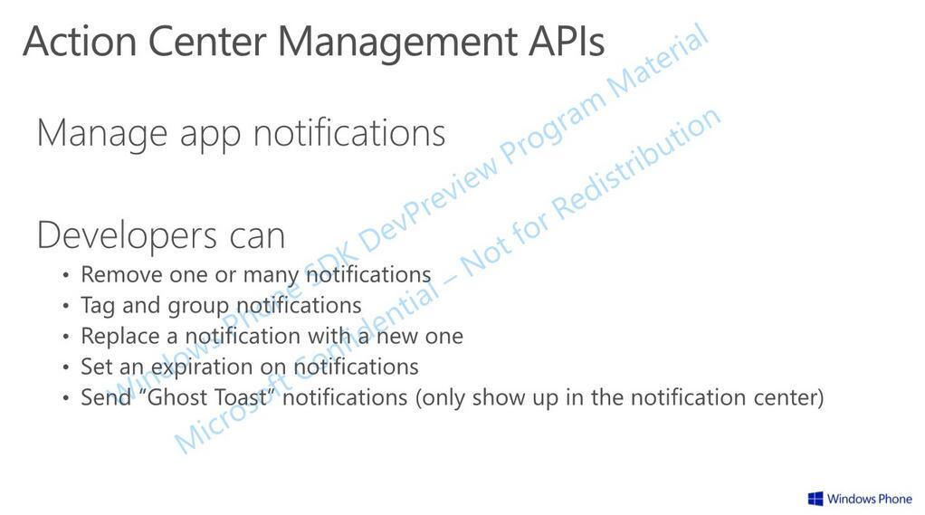 Ada Batasan Maksimal Notifikasi di Action Center Windows Phone 8.1