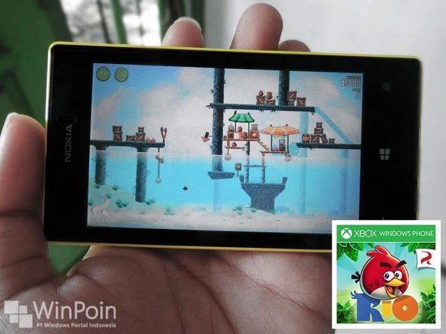 Sekarang Angry Birds Rio Tersedia Gratis untuk Windows Phone