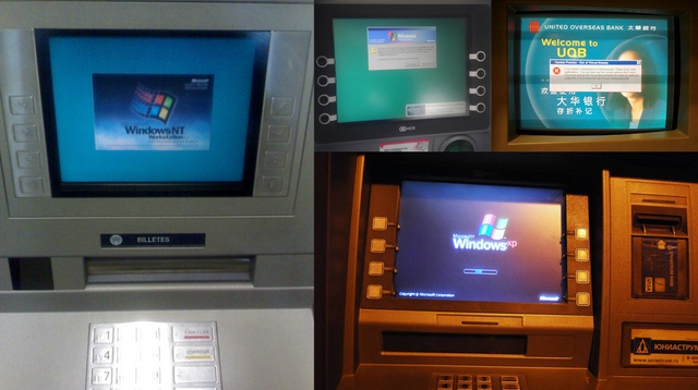 ATM Tetep Ngotot Pakai Windows XP Setelah Masa Supportnya Habis Nanti