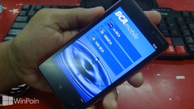 Aplikasi Official BCA Mobile Sudah Hadir di Windows Phone