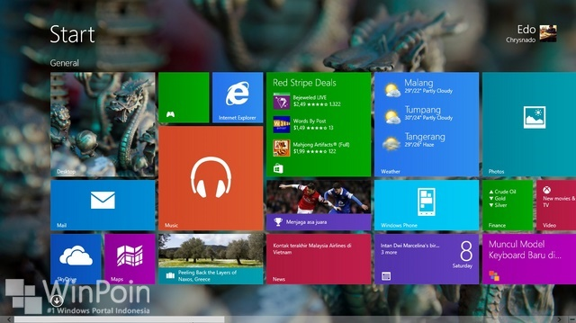 Cara Mengembalikan Internet Explorer yang Hilang di Windows 8