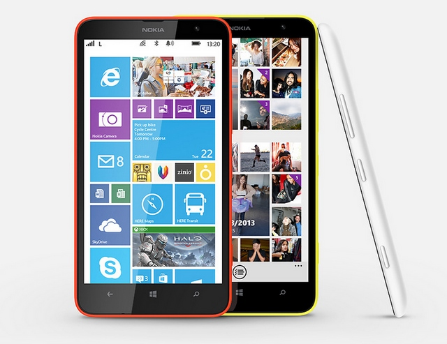Hands-on Phablet Nokia Lumia 1320 (Video)