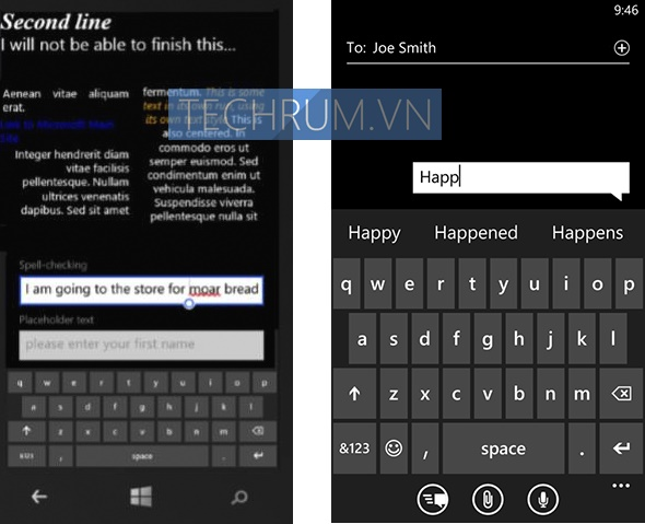 Muncul Model Keyboard Baru di Windows Phone 8.1 SDK