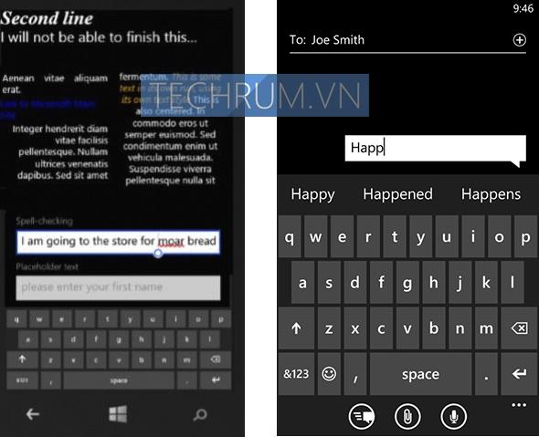 Muncul Model Keyboard Baru di Windows Phone 8.1 SDK