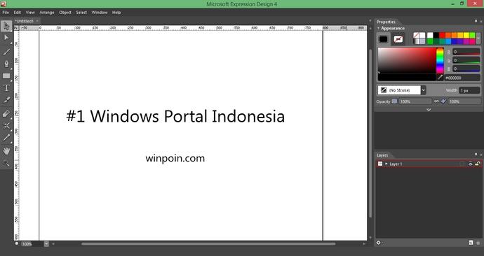 Microsoft Expression Web 4 dan Expression Design 4 Sekarang Bisa Didownload Gratis!
