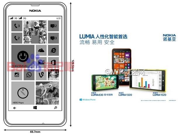 Terungkap Spesifikasi Nokia Lumia 630, Dirilis April Mendatang dengan Windows Phone 8.1