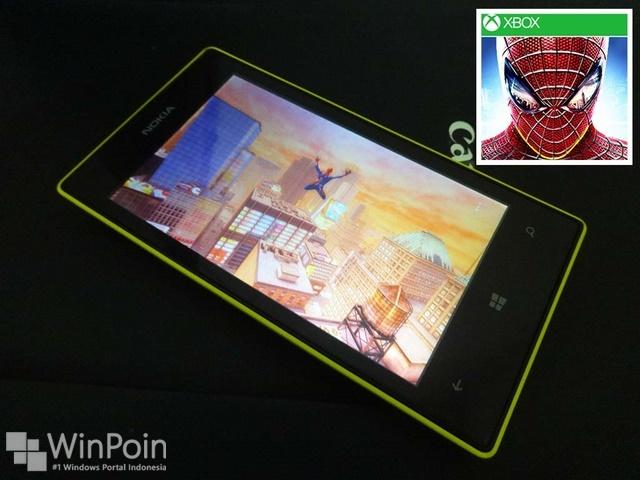April, Game The Amazing Spider Man 2 Akan Hadir di Windows Phone