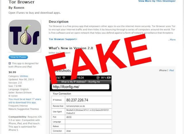 """Tor Browser """"Palsu"""" Berisi Adware dan Spyware Nangkring Berbulan-bulan di Apple App Store"""