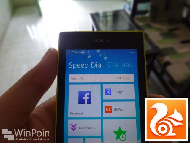 Update UC Browser Ada Bluetooth File Sharing dan Dukungan SD Card