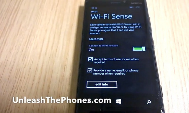 Telah Muncul Video Wi-Fi Sense di Windows Phone 8.1