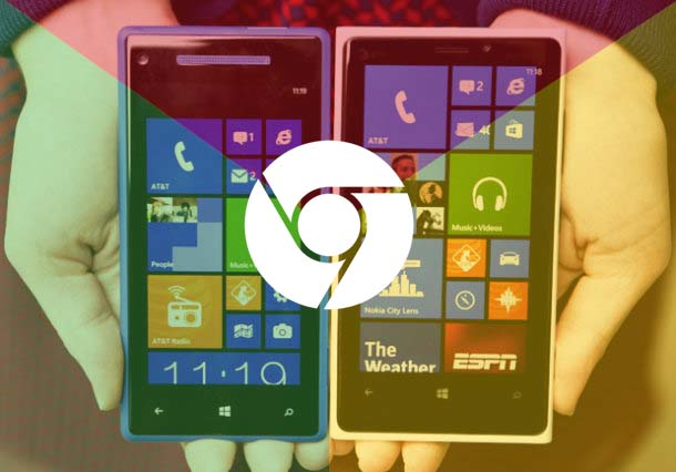 Akankah Google Chrome Hadir di Windows Phone?