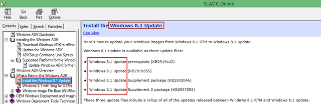 Nama Update Terbaru Windows 8.1 Adalah Windows 8.1 Update