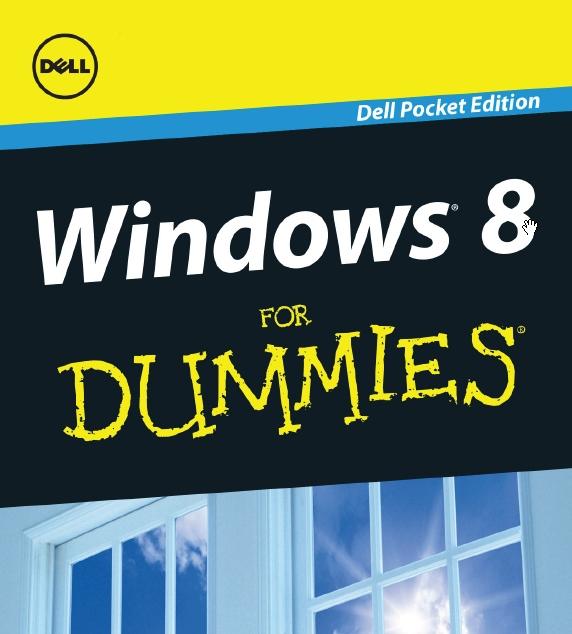 Dell Membagikan Ebook Windows 8 for Dummies Senilai $10 Secara Gratis
