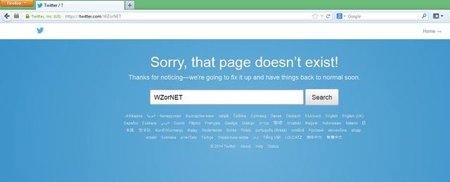 Website dan Akun Twitter WZor Terhapus, Pertanda Apakah Ini?