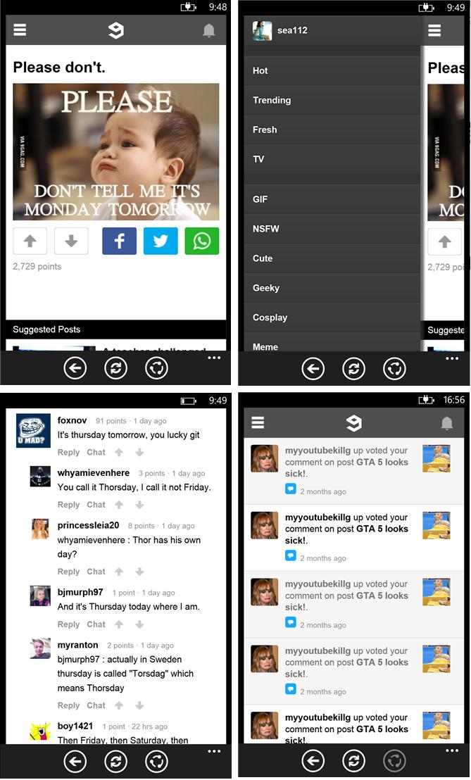 Aplikasi 9GAG untuk Windows Phone 8 Sudah Dirilis, Gratis untuk Waktu Terbatas!