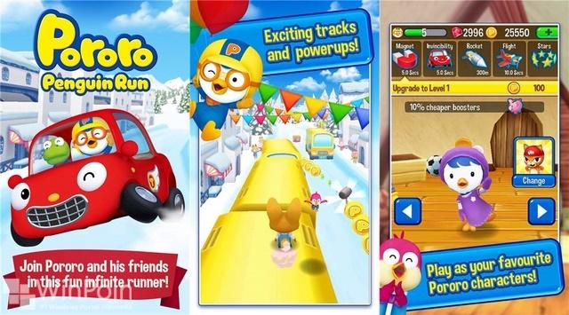 Game Pororo Penguin Run Akhirnya Sampai di Windows Phone