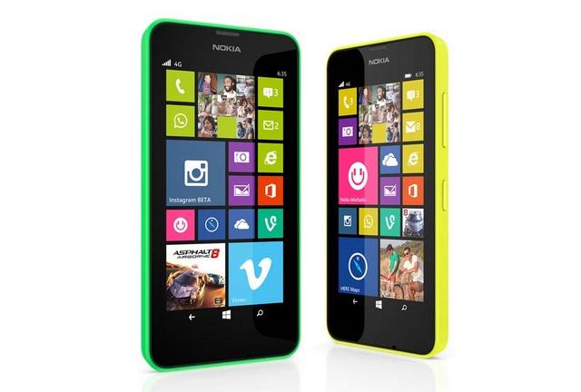 Nokia Merilis Lumia 630 dan Lumia 635