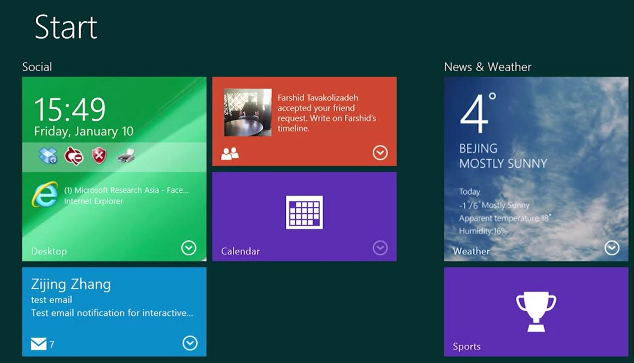 Live Tile Keren Buatan Microsoft Research (Video)