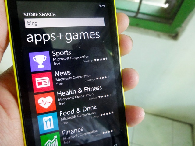Aplikasi Bing di WIndows Phone Tiba-Tiba Menghilang??