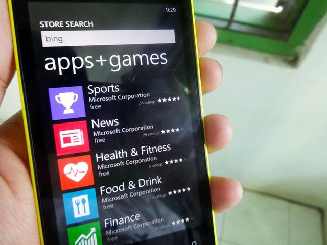 Aplikasi Bing di WIndows Phone Tiba-Tiba Menghilang??