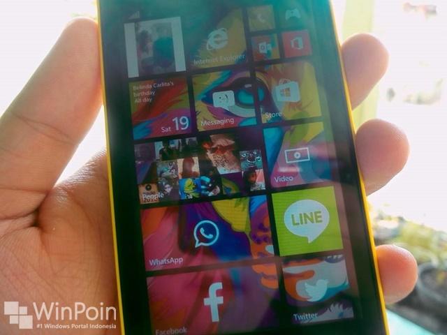 Dapatkan TIle Transparan dari Facebook, Instagram, Foursquare dan Trwitter di Windows Phone 8.1