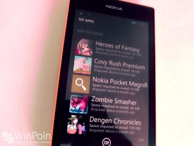 Cara Melihat Daftar Aplikasi yang Telah Kamu Uninstall di Windows Phone 8.1