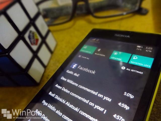 Cara Mengatur Notifikasi di Berbagai Aplikasi Windows Phone 8.1