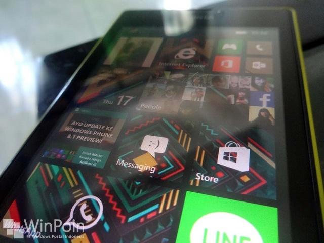 Cara Mengganti Background Start Screen Windows Phone 8.1